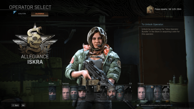 call of duty warzone female characters
