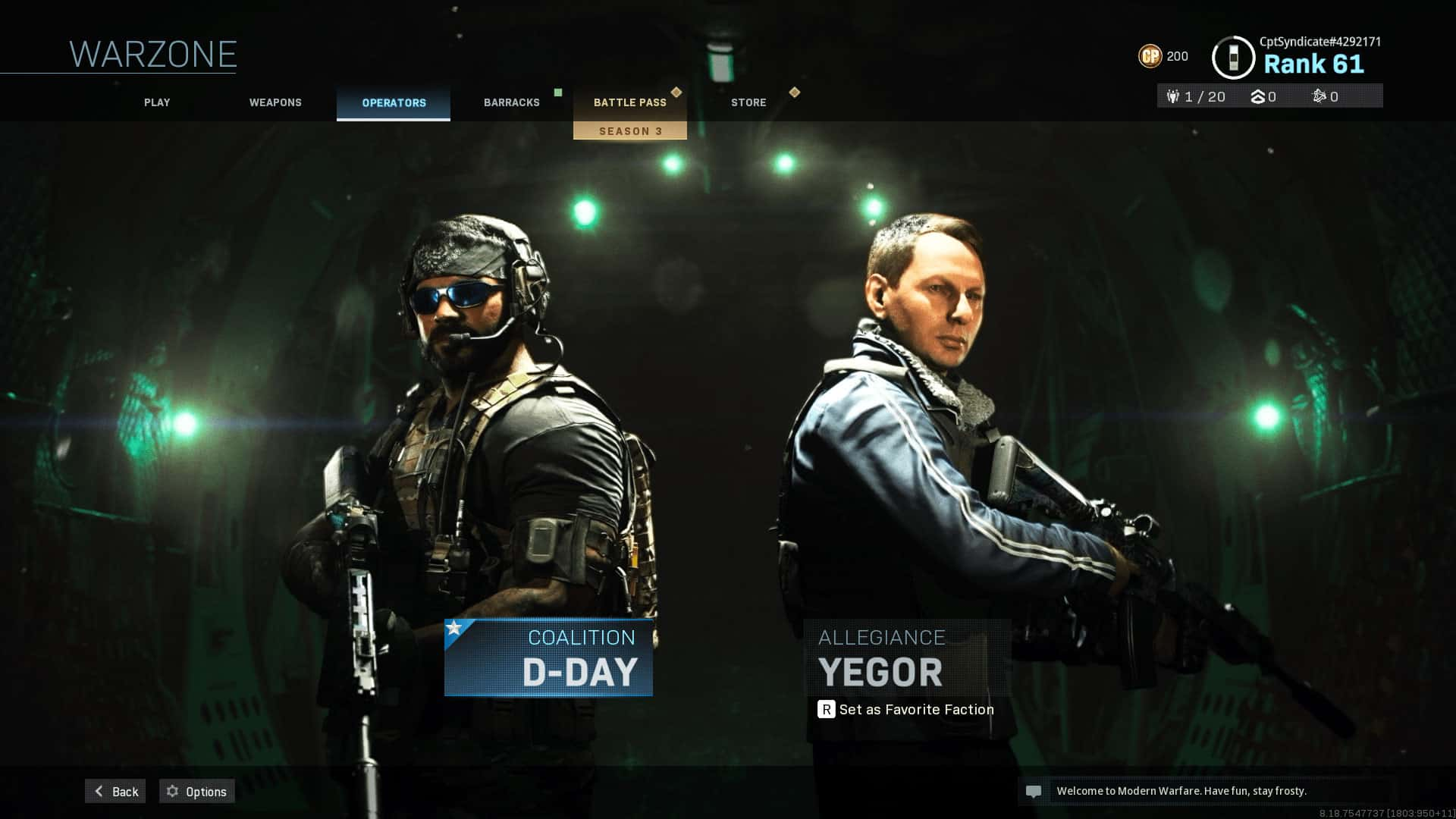 Operator Skins Guide Downsights Call Of Duty Warzone