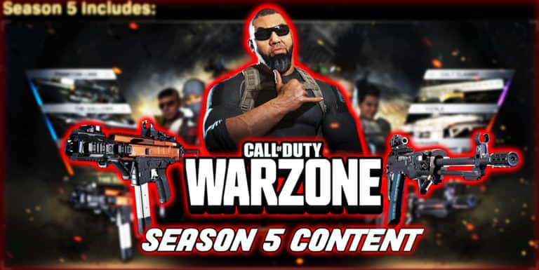 Call Of Duty Warzone Season 5 Content Guide Downsights Call